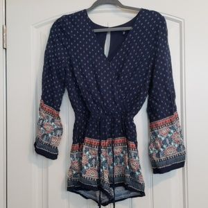 one clothing Dresses - Patterned Romper